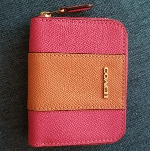Coach small zipper wallet